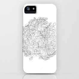 Convoloodle 1.15 iPhone Case