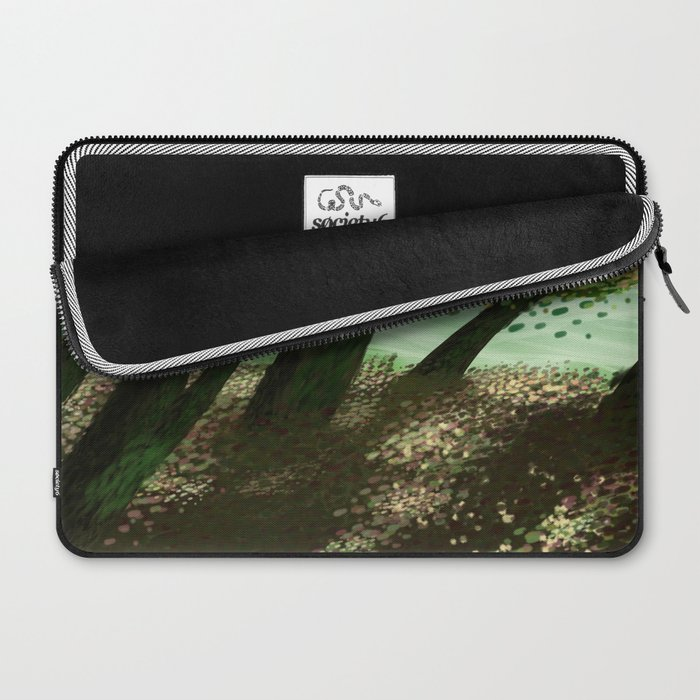 Painted Woods Laptop Sleeve