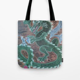St. George Battles the Dragon Tote Bag