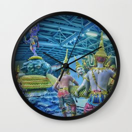 Bangkok Flight Wall Clock