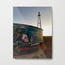 Broken Windmill Metal Print