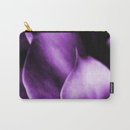 Succulent Leaves In Ultraviolet Color #decor #society6 #homedecor Carry-All Pouch