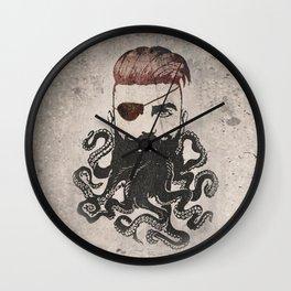 Black Beard Wall Clock