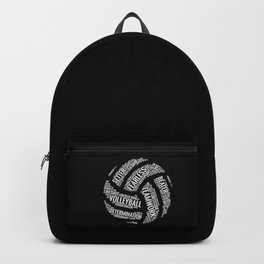 Volleyball Wordcloud - Gift Backpack