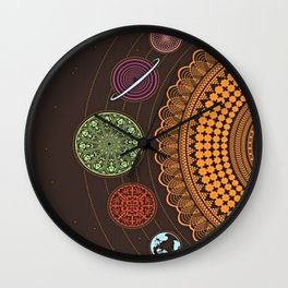peace; Wall Clock