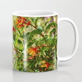 Red and Yellow Firebush Coffee Mug