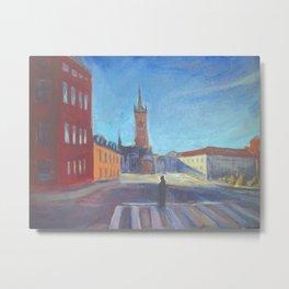 Stockholm Cityscape Metal Print