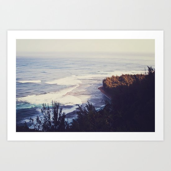 Morning Beach Art Print