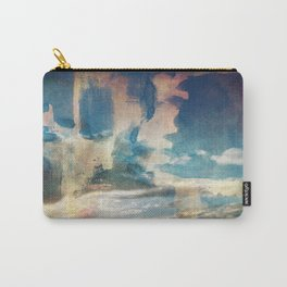 Spray Painting the Sunset Carry-All Pouch