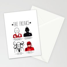 THE FREAKS Stationery Cards