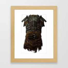 The Mark Framed Art Print