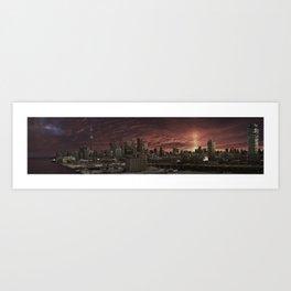 Toronto Skyline 2 Art Print