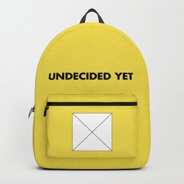Undecided Yet Backpack