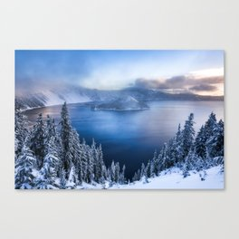 Crater Lake National Park Canvas Print