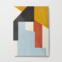geometric abstract 36 Metal Print