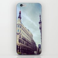 madrid iPhone & iPod Skins featuring Madrid by Theresia Pauls
