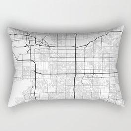 Minimal City Maps - Map Of Tempe, Arizona, United States Rectangular Pillow