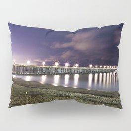 Ventura pier, CA. night landscape Pillow Sham