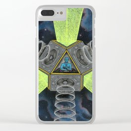 Vectron Equilibrius Clear iPhone Case