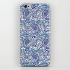 Peacock Swirl - original iPhone & iPod Skin