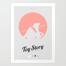 Toy Story - minimal poster Art Print