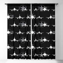 F-4 Phantom II Military Fighter Jet Airplane Blackout Curtain
