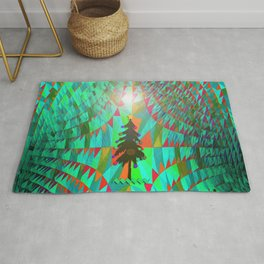 Christmas in Outer Space... Rug