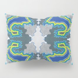 Glacial Kaleidoscope Pillow Sham