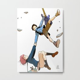 Hand on tight! - FLCL Metal Print