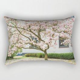 Magnolia Pink Splendor Rectangular Pillow
