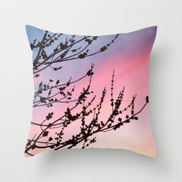 Nature Lovers Throw Pillow
