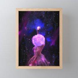 Hanging the Stars Framed Mini Art Print