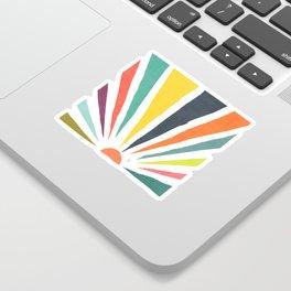 Rainbow ray Sticker