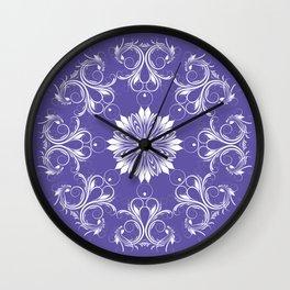 Round stylish ornament.  Wall Clock