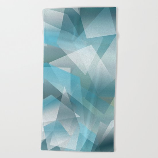 Abstract 208 Beach Towel