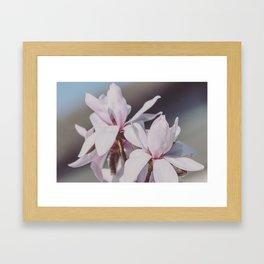 Magnolie_2 Framed Art Print