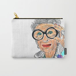 Iris Apfel Carry-All Pouch