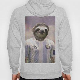 Football Sloth Hoody