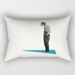 Down Dog Rectangular Pillow