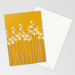 Marshmallows in Gold Stationery Cards