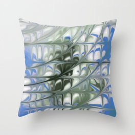 Smudged Colours 12 Throw Pillow
