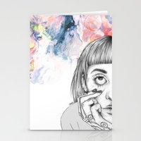 creativity Stationery Cards featuring Creativity by p-antiscians