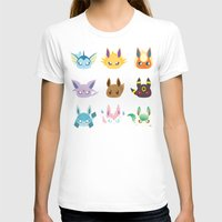 eevee T-shirts featuring Eevee Evolutions by RAVEFIRELL