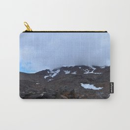 Storm moving over Mount Ruapehu. Carry-All Pouch