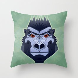 Gorillabot Throw Pillow