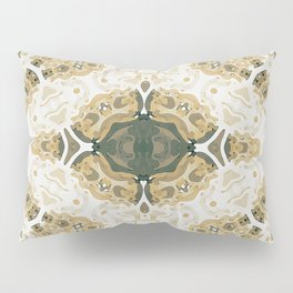 Reptilian Abstract Pillow Sham