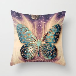 Mariposa  Throw Pillow