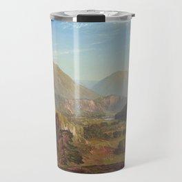 The Juniata Evening 1864 By Thomas Moran   Scenic National Park View Reproduction Travel Mug