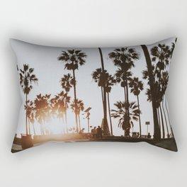 palm trees vi / venice beach, california Rectangular Pillow