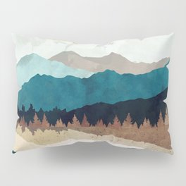 Fall Forest Night Pillow Sham
